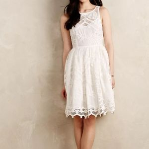 New Maeve Anthropologie Lace Pina Dress Size 8